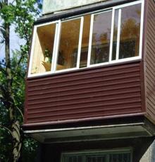 Балкон сайдингом видео фасадные и кровельные материалы.